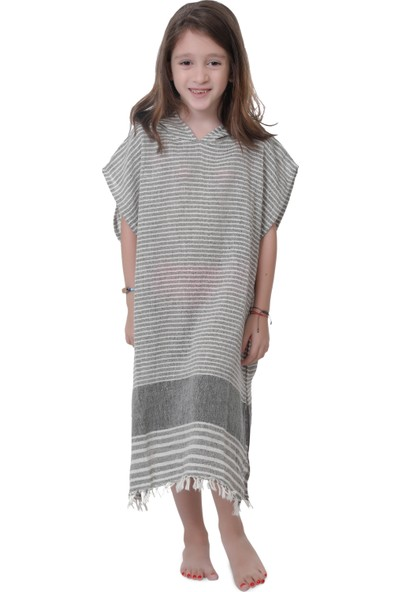 Qurna Designs Barok Kido Kaftan Çocuk Plaj Elbisesi
