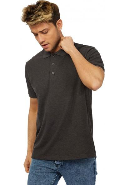 Twenty3 Büyük Beden Basic Pike Polo Yaka T-Shirt