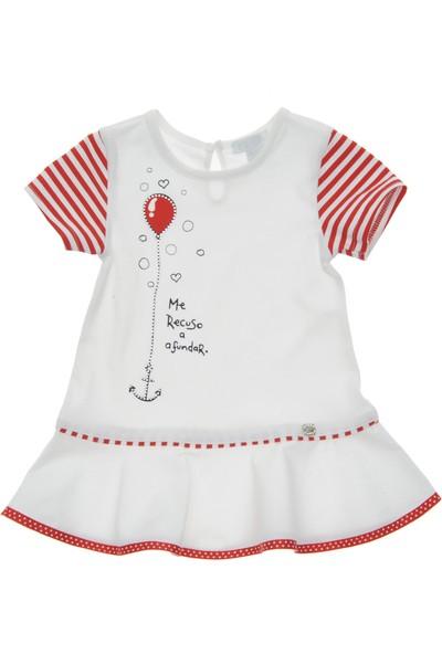 Panço Kız Bebek Örme Elbise 19126071100
