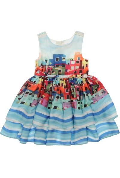 Panço Kız Çocuk Elbise 19126357100