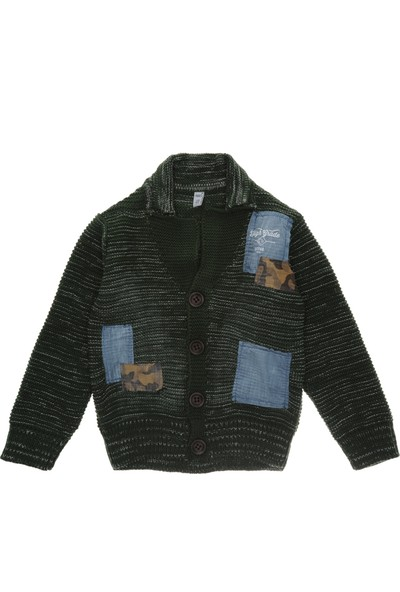 Panço Erkek Çocuk Triko Hırka 18209006100