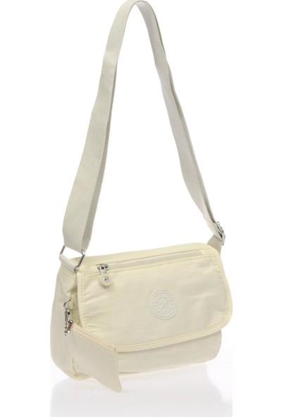 Smart Bags Smb1148-0002 Beyaz Kadın Çapraz Çanta
