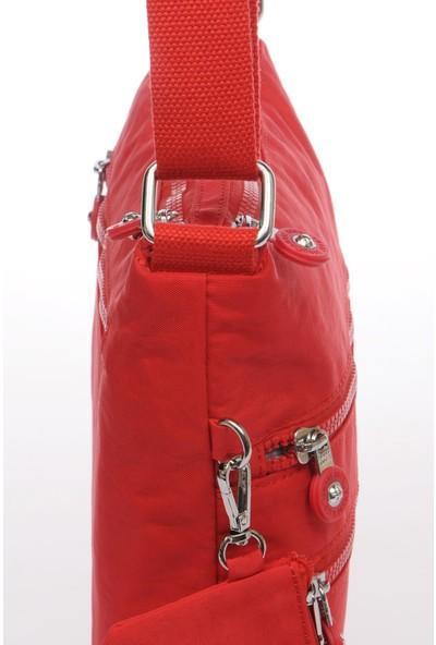 Smart Bags Smb1185-0019 Kırmızı Kadın Çapraz Çanta