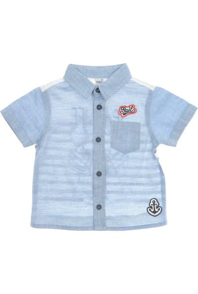 Panço Erkek Çocuk Kısa Kollu Gömlek 1811291100