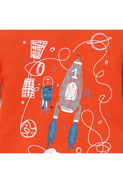 Panço Erkek Bebek Uzun Kollu T-shirt 19217196100