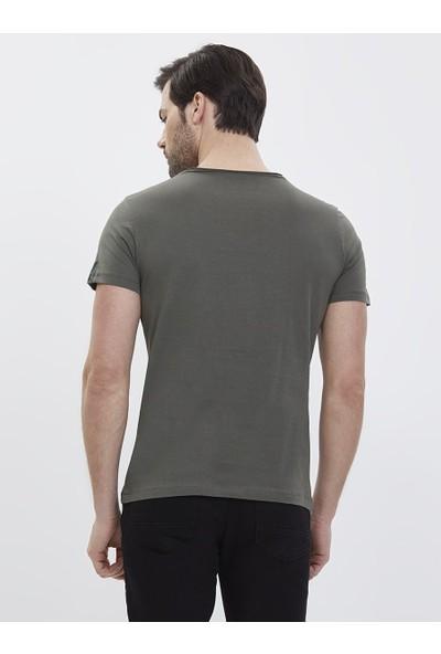 Loft 2020707 Erkek T-Shirt Short Sleeve