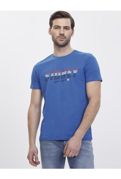 Loft 2023103 Erkek T-Shirt Short Sleeve