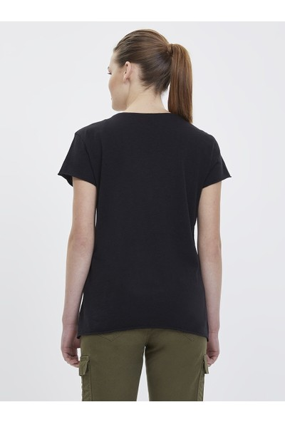 Loft 2023147 Kadın T-Shirt Short Sleeve