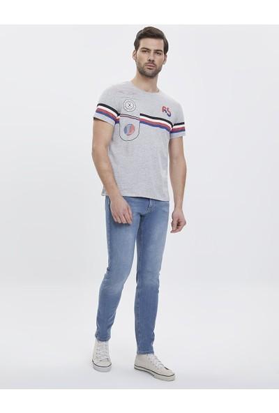 Loft 2023552 Erkek T-Shirt Short Sleeve