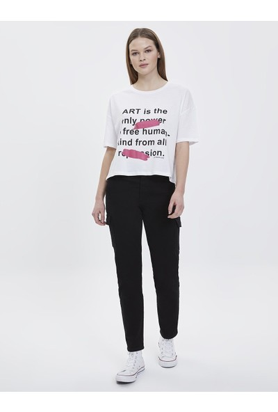 Loft 2023792 Kadın T-Shirt Short Sleeve