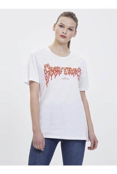 Loft 2023913 Kadın T-Shirt Short Sleeve