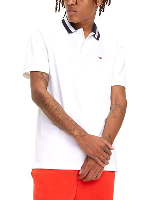 Tommy Hilfiger Erkek T-Shirt Dm0Dm06022-100