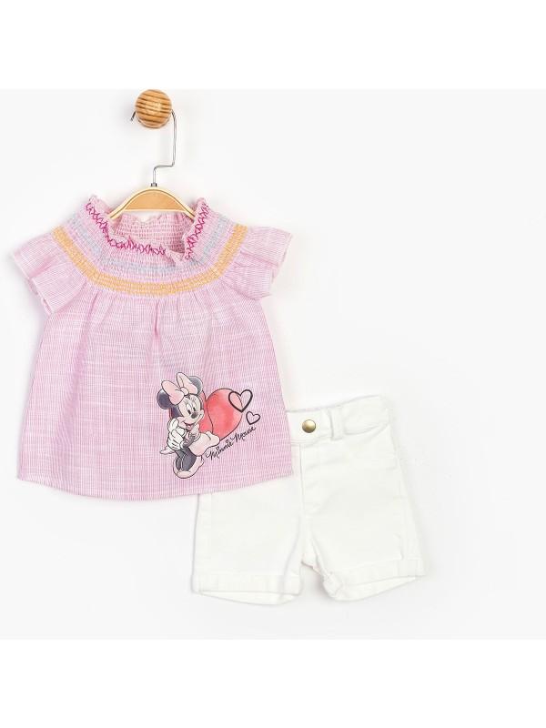 Disney Bebek Kot Şortlu Takım 15486