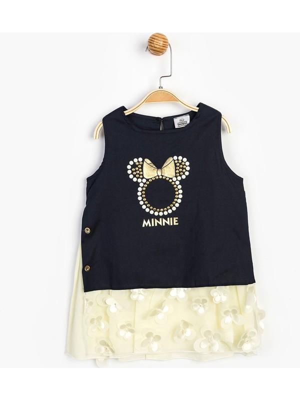 Disney Minnie Çocuk Elbise 15634