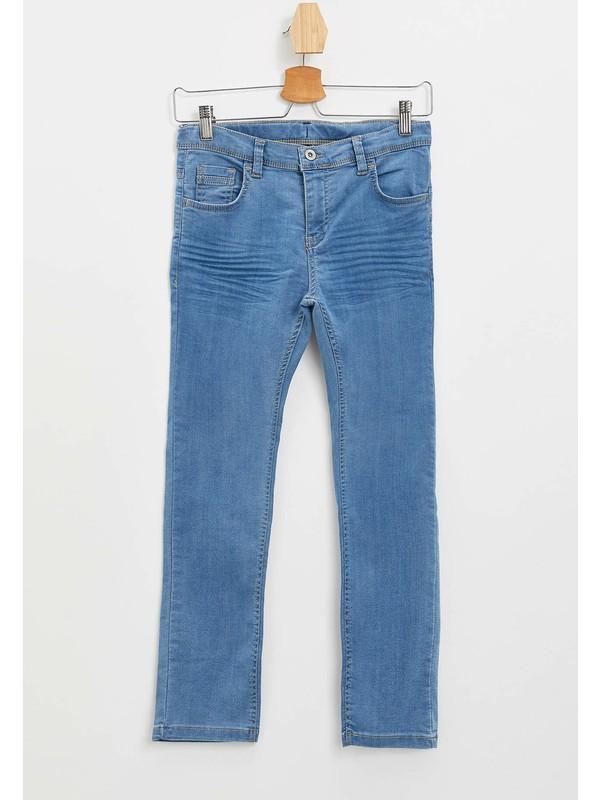 DeFacto Erkek Çocuk Slim Fit Jean Pantolon M9886A620SP