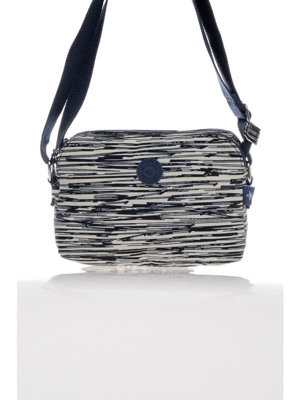 Smart Bags Smb3002-0126 Bej/Laci Kadın Çapraz Çanta