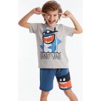 Denokids Bandit Shark Erkek Çocuk Şort Takım