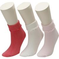 I Cool SCH 3 LU SKT-G SEKER PEMBE Kız Çocuk Soket Çorap