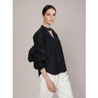 Roman Kadın Yaka Ve Kol Detaylı Bluz-K1913033-001