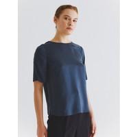 Roman Kadın Yarım Kol Lacivert Bluz-K2013117-015
