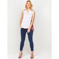 Faik Sönmez Sim Desen Garnili Beyaz Gömlek 60365