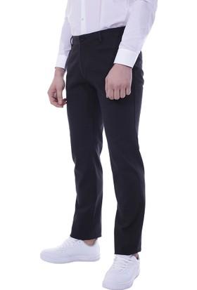 Diandor Dar Kesim Erkek Kanvas Pantolon 3008 Siyah/Black 1923008