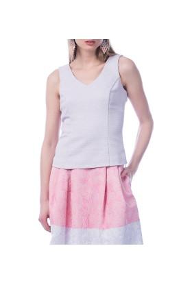 Roman Kadın Lila Bluz-Y1513109-017