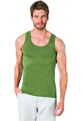 Özlem Donex 2105 Erkek Penye Askılı Atleti Yeşil 56
