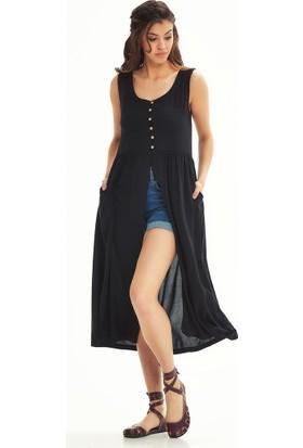 Los Banditos Otantik Siyah Tunik Elbise S