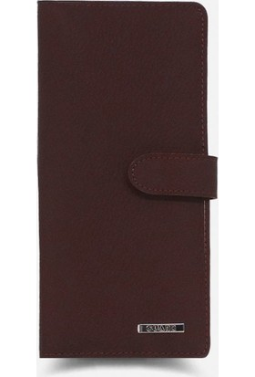 Guard Leather Bordo Parma Deri Portföy Cüzdan