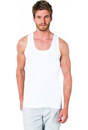 Özlem Donex 2100 Erkek Penye Askılı Atlet Beyaz