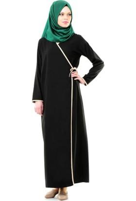 Umre Market Namaz Elbisesi - Yandan Bağlamalı - Siyah
