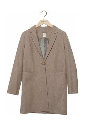 Yargıcı Toka Detaylı Palto