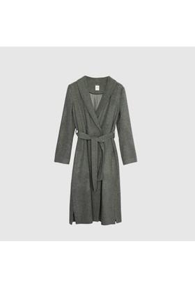 Yargıcı Uzun Yırtmaç Detaylı Palto