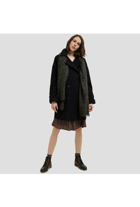 Yargıcı Biye Detaylı Palto