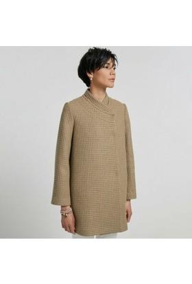 Yargıcı Panel Detaylı Palto