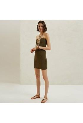 Yargıcı Mini Örme Elbise
