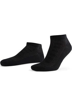 Aytuğ Business Erkek Penye Patik Çorap Desenli - 11226 Siyah 40 - 45