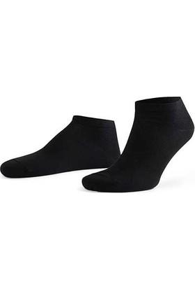 Aytuğ Business Erkek Penye Patik Çorap Düz - 11200 Siyah 40 - 45