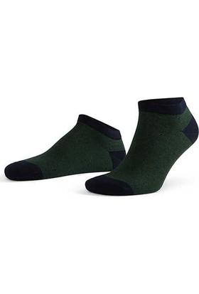 Aytuğ Erkek Bambu Patik Çorap Desenli - 14237 Siyah 40 - 45