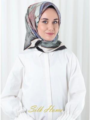 Silk Home %100 Twill Ipek Eşarp 11282-07