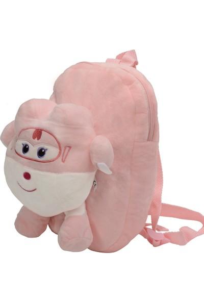 Selay Toys Harika Kanatlar Dizzy, Kız Çocukları Için Peluş Çanta 35 cm
