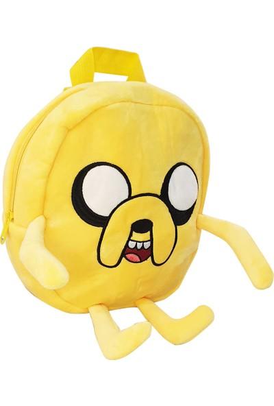 Miniso Adventure Time Peluş Çocuk Sırt Çantası