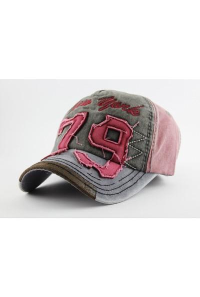 Kazandıran Outlet Newyork 79 Eskitme Şapka