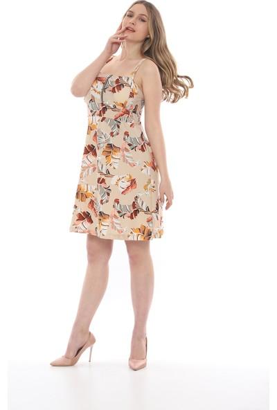 Manche Kadın Bej Elbise Mk19S284758