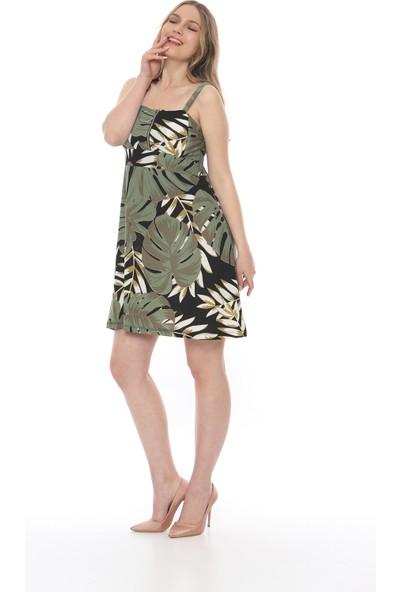 Manche Kadın Haki Elbise Mk19S284758