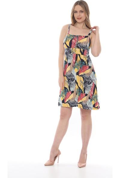 Manche Kadın Sarı Elbise Mk19S284758