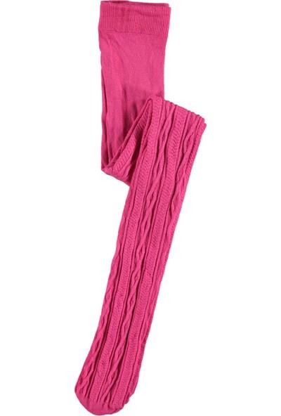 Bella Külotlu Çorap 2-13 Yaş Fuşya