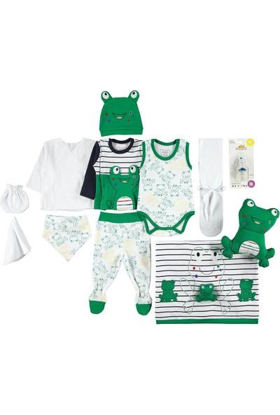 Minidamla Bebek 12'li Zbın Seti 0-3 Ay Yeşil