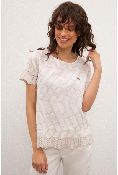 U.S. Polo Assn. Kadın Dokuma Gömlek 50218708-VR013